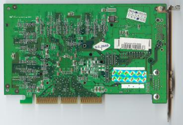 Manli GeForce2 GTS 64 MB (back side)