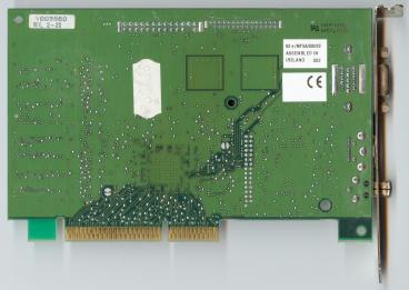 Matrox Millennium G200 (back side)