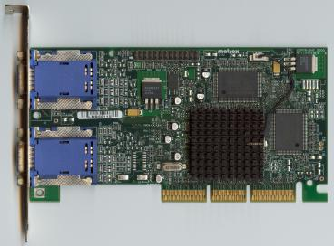 Matrox Millennium G450 DH 16 MB (front side)