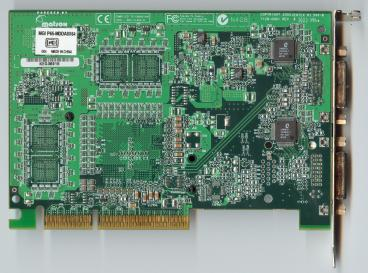 Matrox Millennium P650 (back side)