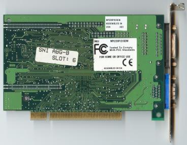 Matrox Mystique 220 (back side)