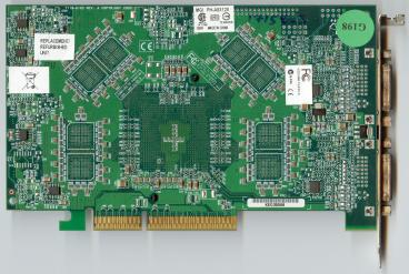 Matrox Parhelia AGP 8X (back side)