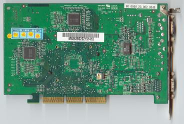 Medion GeForce4 MX460 (back side)