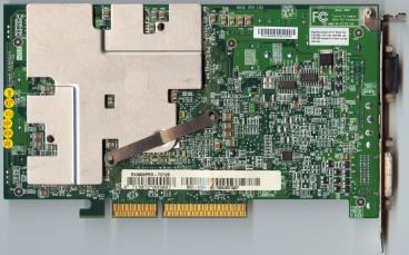 Medion Radeon 9800 XXL (back side)