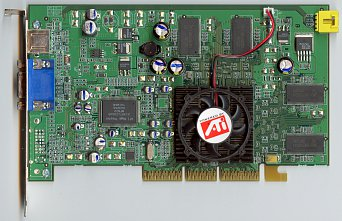 Sapphire Radeon 9100 (front side)