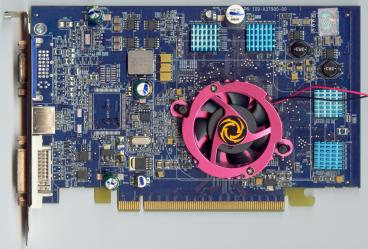 Sapphire Radeon X700 pro (front side)