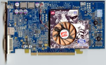 Sapphire Radeon X800 GT (front side)