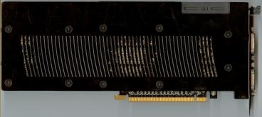 Zotac GeForce GTX 260 216sp OC (back side)