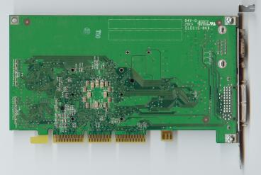 nVidia GeForce2 MX MAC (back side)