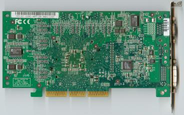 nVidia GeForce3 Ti 500 (back side)