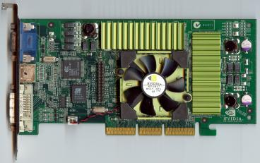 nVidia GeForce3 Ti 500 (front side)