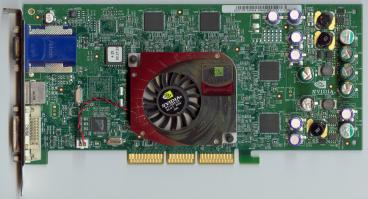 nVidia GeForce4 Ti 4600 (original) (front side)