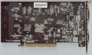 nVidia GeForce FX 5600 (back side)