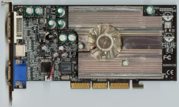 nVidia GeForce FX 5600 (front side)