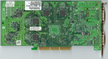 nVidia Quadro4 980 XGL (back side)