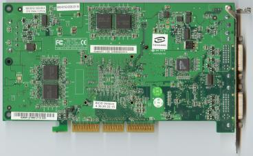 nVidia Quadro FX 1100 (back side)