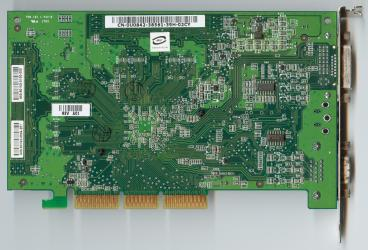 nVidia Quadro FX 500 (back side)