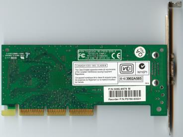 nVidia Riva TNT2 M64 Vanta (back side)